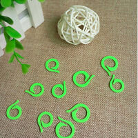 20Pcs Knitting Crochet Craft Locking Stitch Markers Holder Needle Clip EW