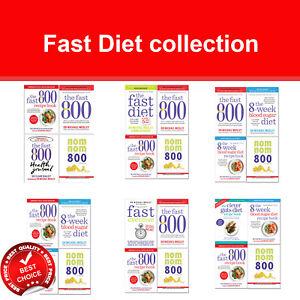 Fast-Diet-Collection-Fast-800-8-Week-Blood-Sugar-Diet-Recipe-Clever-Guts-Diet