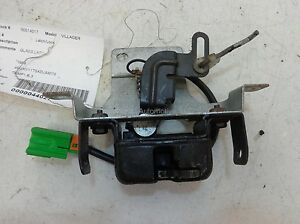 Mercury-Villager-Tailgate-Glass-Latch-1999-2000-XF5Z1240860AA-OEM-Moveable