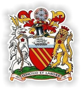 3/'/' 5/'/' or 6/'/' Suriname Coat Of Arms Car Bumper Sticker Decal