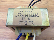 Step-down 120V - 6/12V 30W Transformer 30VA TPL-9096301 dual secondary