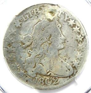 1802-Draped-Bust-Half-Dollar-50C-Coin-PCGS-VG-Details-Plugged-Rare-Date