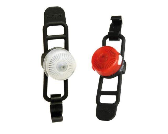 Cateye avant et arrière sl-ld140rc LED Boucle rechargeable lightset