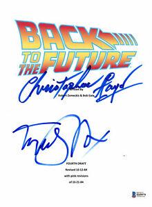 MICHAEL-J-FOX-CHRISTOPHER-LLOYD-AUTOGRAPHED-BACK-TO-THE-FUTURE-SCRIPT-BECKETT