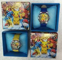 Pokemon Go Pikachu Children Wristwatch Watches With Boxes Xams Gift