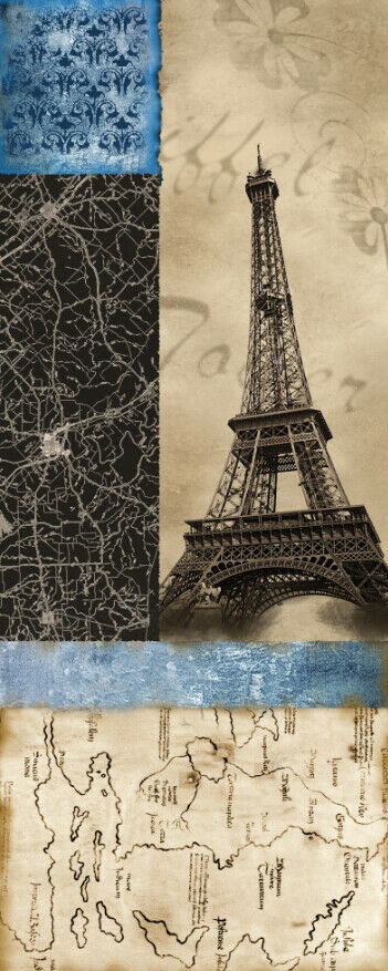 3D Map Of Of Of Paris Tower 5 Wall Paper Wall Print Decal Wall Deco Indoor Mural Lemon 6008c9