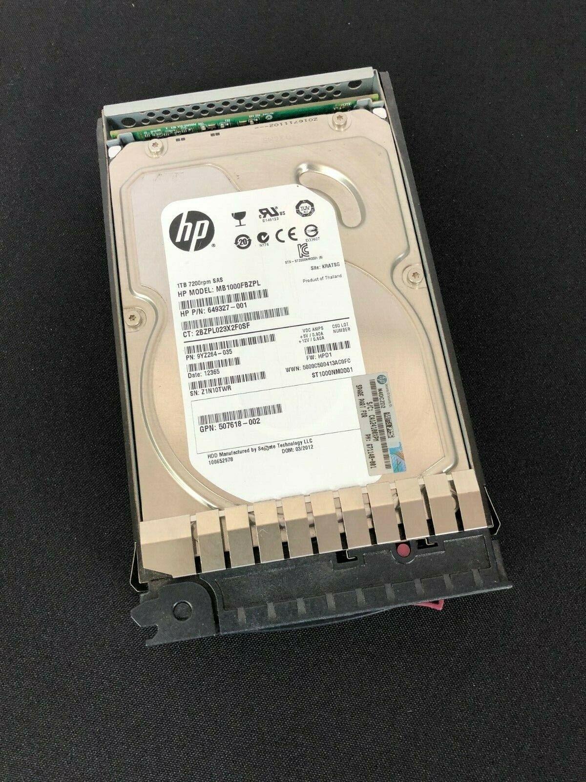 HP 454414-001 Eva M6412a 1tb FATA Drive 671148-001 AG691A AG691B