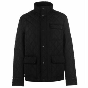 Mens-Firetrap-Kingdom-Jacket-Quilted-Long-Sleeve-New