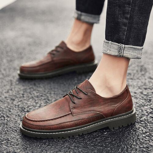 ronde lederen kleding kruis schoenen zakelijke Britse strappy heren neus faux flats XuOPZTikwl