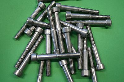 10 x Zylinderschraube,Gewindeschraube, M8x30, DIN 912 , Edelstahl