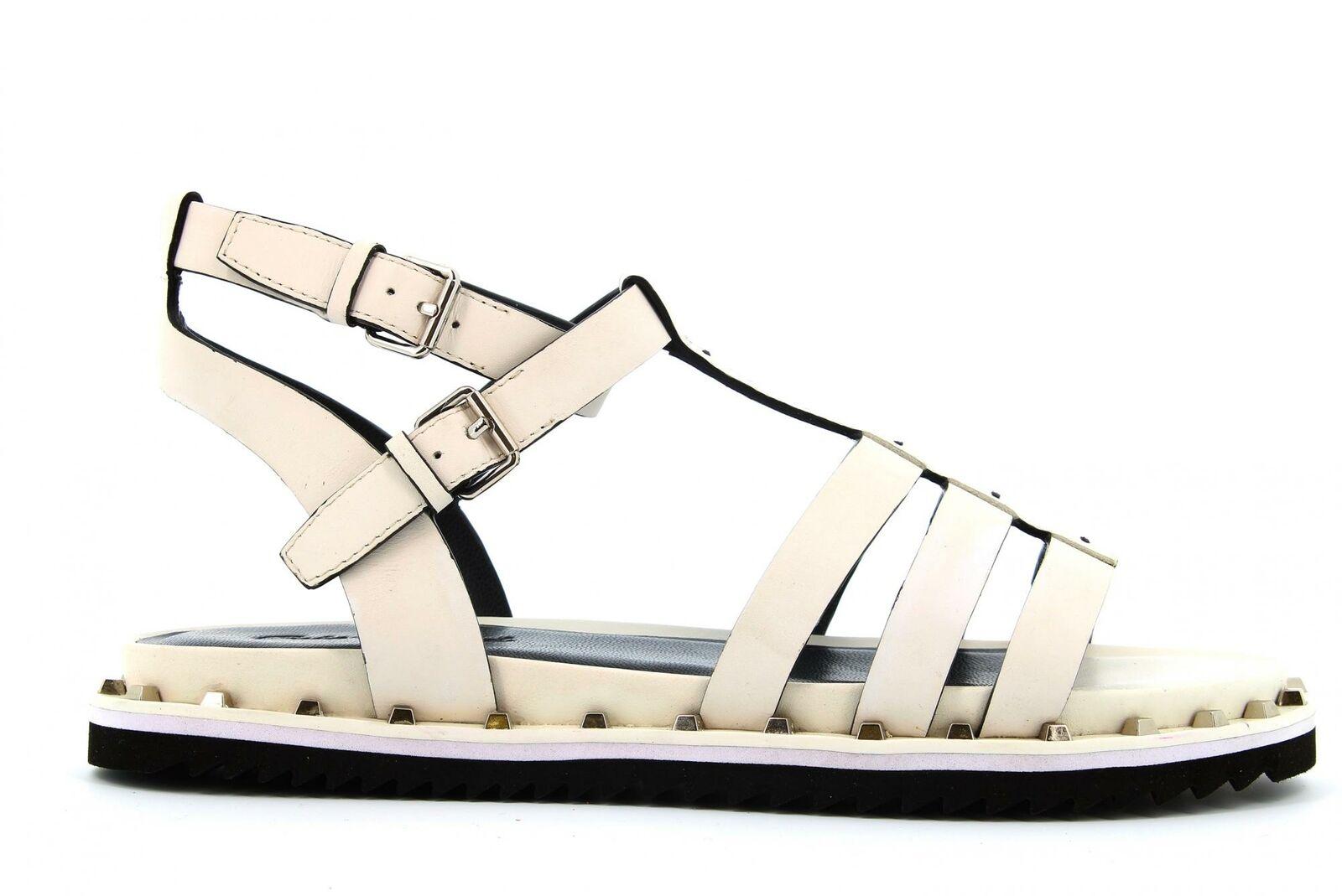 Cris Vergre' P19f zapatos pour mujer sandales EJ2904N blanco