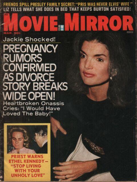 Modern Screen Magazine March 1970 Jackie Kennedy Aristotle