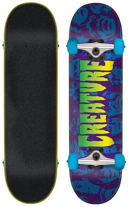 Creature Complete Skateboard Skateboard Skateboard Faces 7.5
