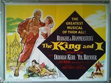 Cinema Poster: KING AND I, THE 1959 (1965 RR Quad) Yul Brynner Deborah Kerr