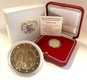 2-euro-BE-commemorative-Monaco-2020-Prince-Honore