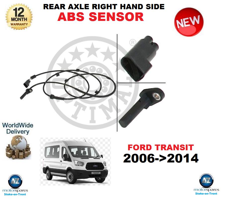 Für Ford Transit ABS Sensor 2006-   2014 Hinterachse Rechte Seite OE Quality