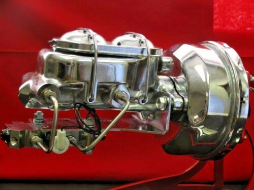 1964 65 66 Ford Mustang Chrome Booster Conversion Kit Automatic 4 Wheel Disc