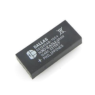 10pcs DS1245AB-100 IC 1024k Nonvolatile SRAM Dallas Semiconductor IC 32-Pin