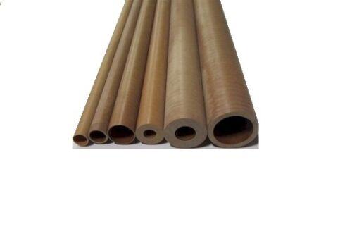 "2230 1 Uni Garolite Phenolic Nema LE Linen Tube 1 1//16/"" OD x 1/"" ID x 1//32/"" Wall"