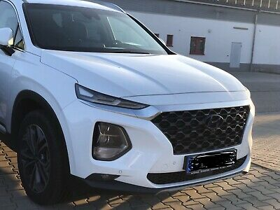 Frugale Hyundai Santa Fe Set Cover Emblema Lucido – Nero Blacked Out Badge Gloss-arz Blacked Out Badge Gloss It-it Mostra Il Titolo Originale