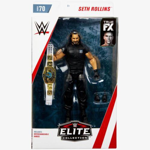 WWE Seth Rollins Elite Series 70 Nuovo in Scatola NUOVO CON SCATOLA