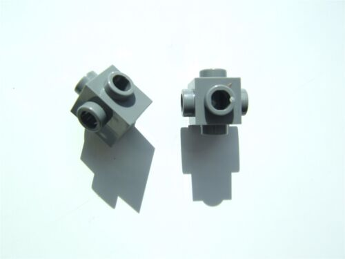 4210700 with 4 knobs 2 x Lego Grey brick size 1x1 Parts /& Pieces