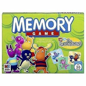 Memory Game Nick Jr The Backyardigans Editionmatching Cards 2005 ...