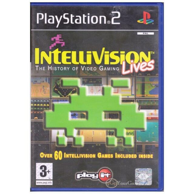 PLAYSTATION 2 INTELLIVISION LIVES THE HISTORY OF  VIDEO GAMING PAL PS2 [UVG]