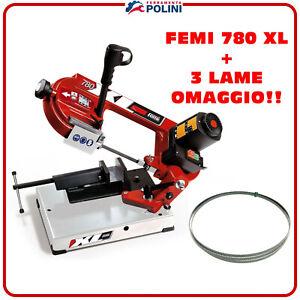 Femi Machine à Scier A Ruban 780 XL + 3 Lame En Cadeau 1335 Moissonneuse