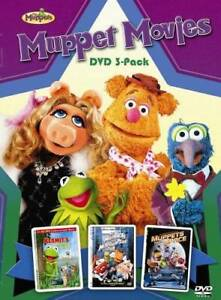 Muppet Movies DVD 3-Pack - (Kermit's Swamp Years / The Muppets Take  - VERY GOOD