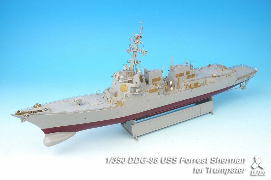 Tetra Model 1 350  SE-35002 USS Forrest Sherman DDG-98 Detail Set for Trumpeter