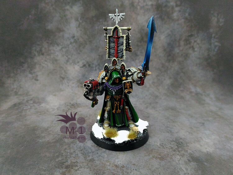 Warhammer 40k Dark Angels Belial M-1 pro-painted