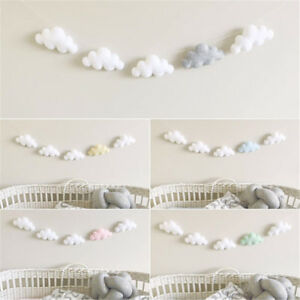 Cloud Garland Ornament Kids Bedroom