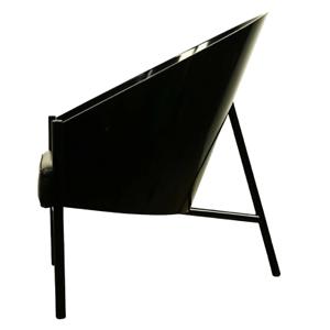 Pratfall-Stuhl-Philippe-Starck-Design-Driade-Aleph-Easy-Chair-Sessel-Leder-80er