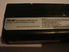 Batterie D'ORIGINE ASUS A32-K52 10.8V 4400mAh 47Wh GENUINE ORIGINAL Battery