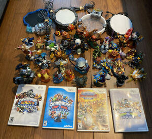 Massive Huge Skylander Bundle Lot - 38 Figures, 4 Portals, 4 Wii Games - NICE!!!
