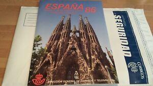LIBRO-DE-SELLOS-DE-ESPANA-1986-CORREOS-OFICIAL-COMPLETO-OFERTA-UNICA-Y-ESPECIAL