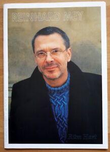 Reinhard-Mey-Programm-Tournee-2002-Ruem-Hart-Konzert-Lieder-deutsch-Texte-Heft