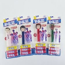 (4) Stranger Things Collectors Limited Edition Pez Dispensers Set