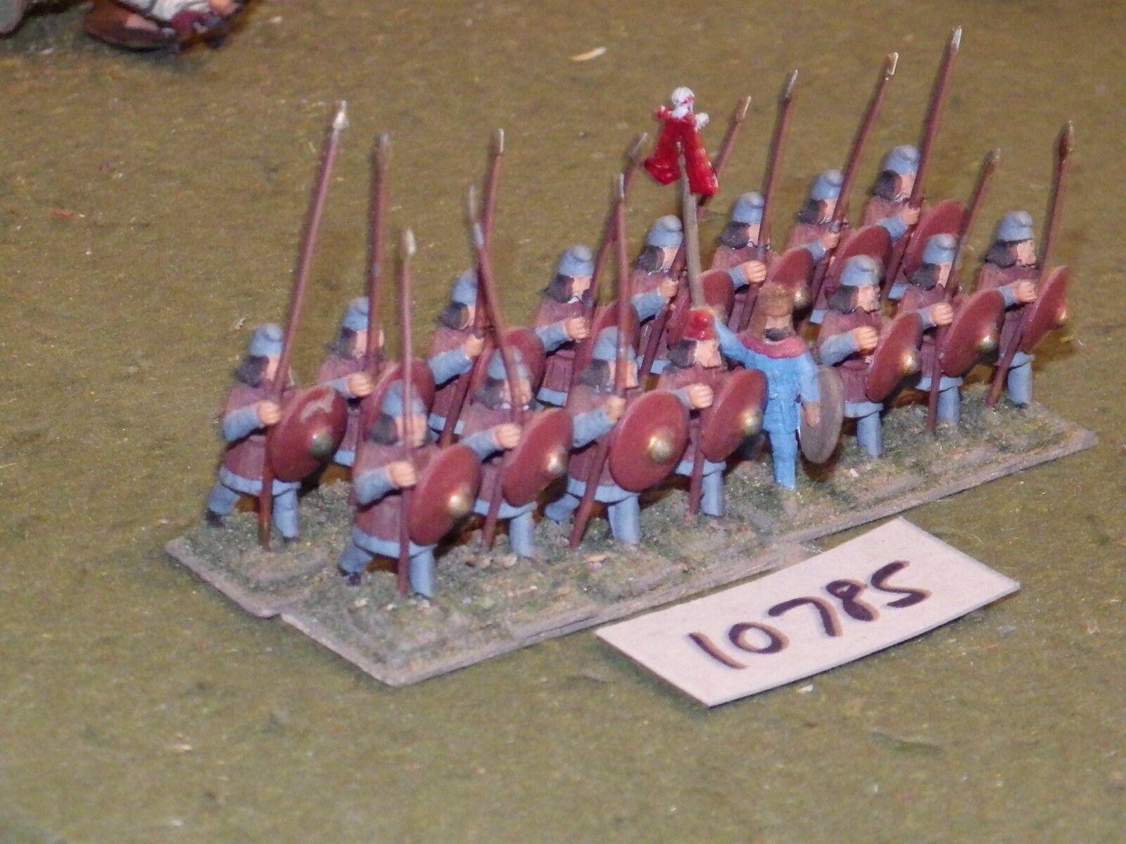 25mm dark ages   bulgar - infantry 16 figs - inf (10785)