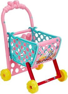 Disney-Junior-Minnie-Mouse-Minnie-039-s-Shopping-Trolley-Carro-amp-Play-Conjunto-de-Juego-De