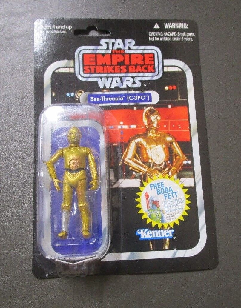 C-3PO See-Threepio 2010 STAR WARS Vintage Collection VC06 MOC