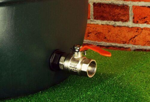 """tanque de almacenamiento compatible Hozelock agua conector de tope 1/""""BSP MDPE pipa de agua"""