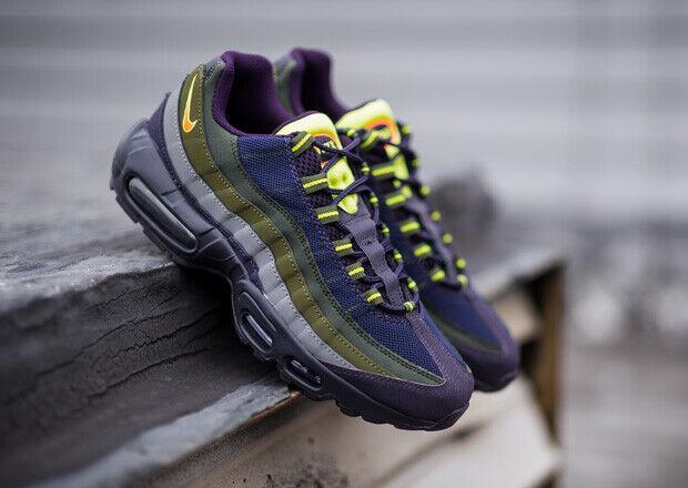 Nike Air Air Air Max 95 Classic Sneakers New, Cave Purple 609048-500 NEW IN BOX sz 11.5 6cb130