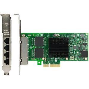 NEW-Intel-I350-T4-PCI-Express-PCI-E-Four-RJ45-Gigabit-Ports-Server-Adapter-NIC