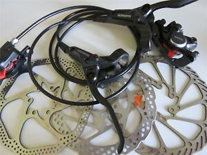 Shimano BR-BL-M315 MTB Hydraulic Disc Brakes Set Pre-Filled With 160mm Rotors