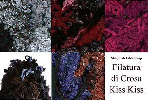 Filatura-di-Crosa-Kiss-Kiss-Wool-Blend-100g-Yarn-Color-Choice-Knit-Crochet-FS