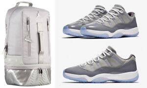5c6855fc096d Nike Air Jordan 11 XI Retro Cool Grey Patent Medium Gray Laptop ...