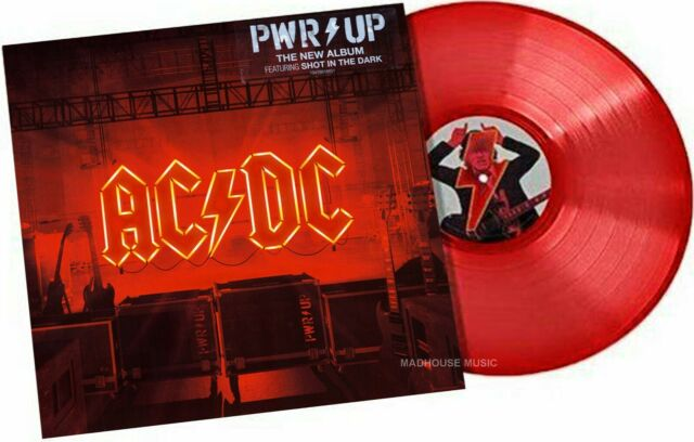 AC/DC LP PWR UP RED VINYL Power Up LIMITED EDITION - Mails SAME DAY