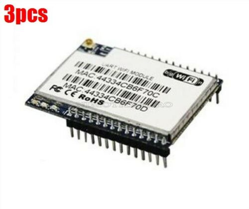 3Pcs Serial To Ethernet Wifi Ap Wireless Routing Module HLK-RM04 New Ic tn